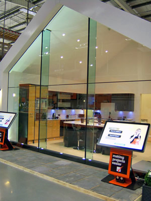 Saralan Ltd Structural Glass Frameless Glass